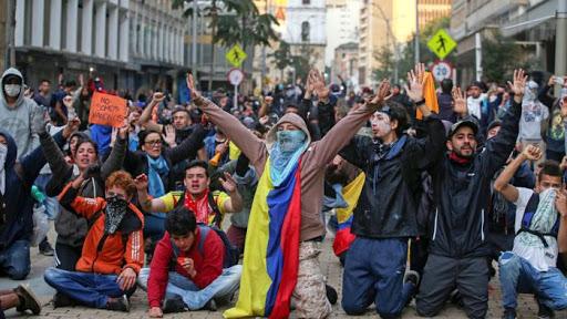Sobre la represión en Colombia